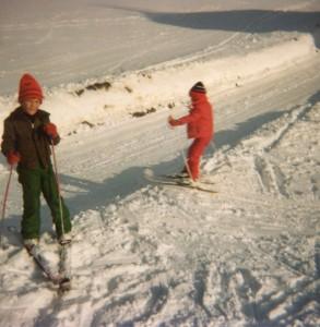 1980 Schifahren vor der Haustür in Bad Leonfelden