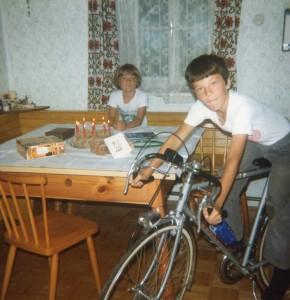 1982 Bernhard`s erstes Rennrad