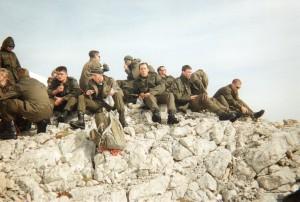 1992 Grundwehrdienst in Burgenland