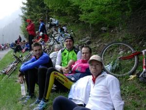 2005 Giro d`Italia mit Christian, Harald und Andi