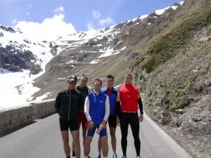 2005 Stilfserjoch mit Harald, Andi, Christian und Walter