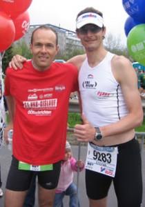 2006 Linz Marathon mit Stefan