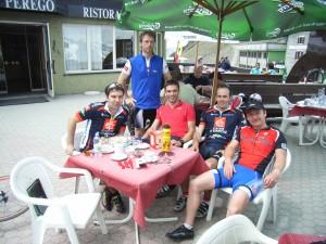 2006 Südtirol mit Harald, Andi, Chrstian und Franky