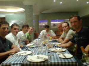 2008 Trainingslager in Zypern mit Freunden
