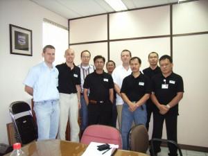 2008 beruflicher Einsatz in Südostasien (Lenzing AG)