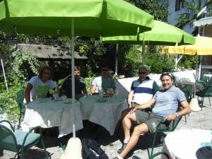 2010 Meran Ausflug mit Walter, Christian, Stefan und Harald