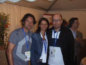 2010 Wels Radkriterium mit Harald und Dagmar