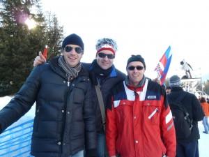 2011 Besuch Biathlon Antholz mit Christian und Harald
