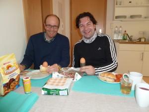 2011 Besuch Biathlon Antholz mit Harald